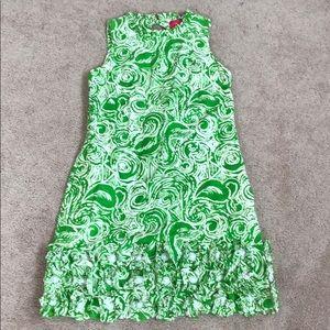 Lilly Pulitzer Jubilee ruffle dress